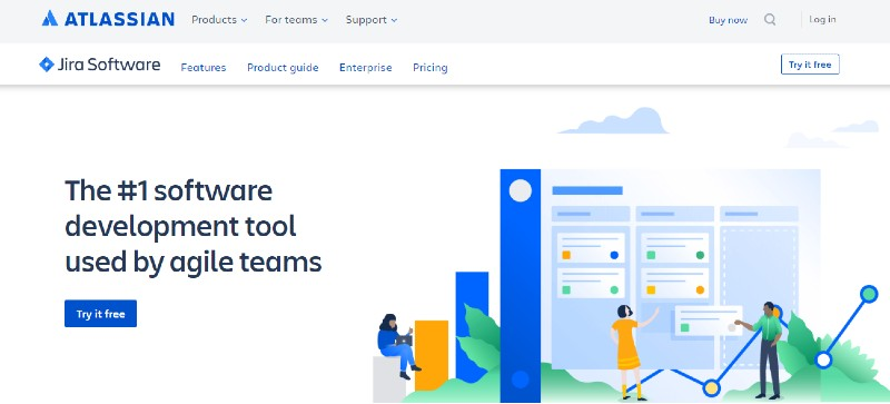 Jira - Best Team Collaboration Software