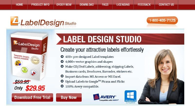 Label Design Studio - Best Label Designing and Printing Software