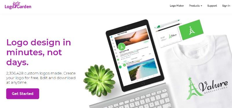 Logo Garden - Best Online Logo Designer Software