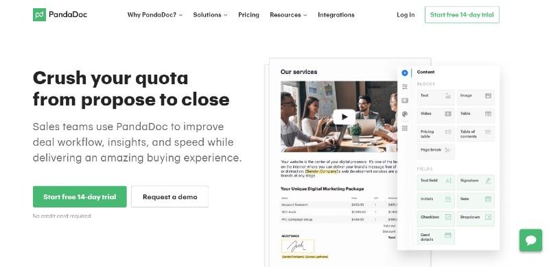 Pandadoc - Best Document Management Software