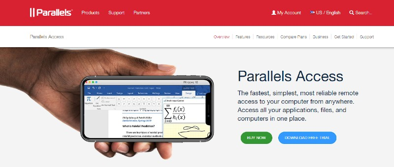 Parallels Access - Best Remote Desktop Software And Access Tools