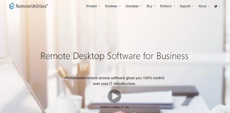 Remote Utilities - Best Remote Desktop Software And Access Tools