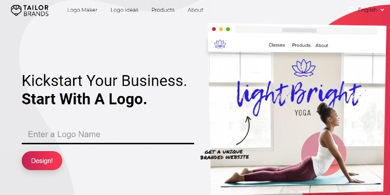 Tailor Brands - Best Online Logo Designer Software