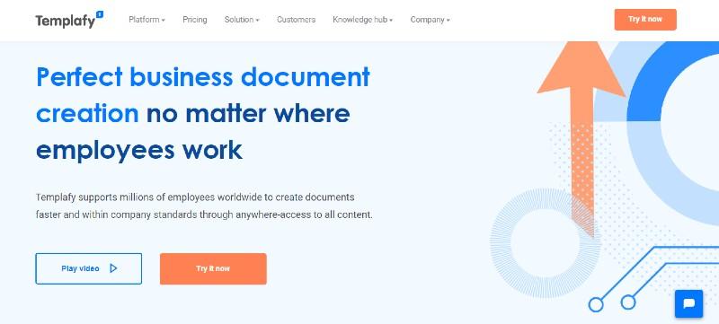 Templafy - Best Document Management Software
