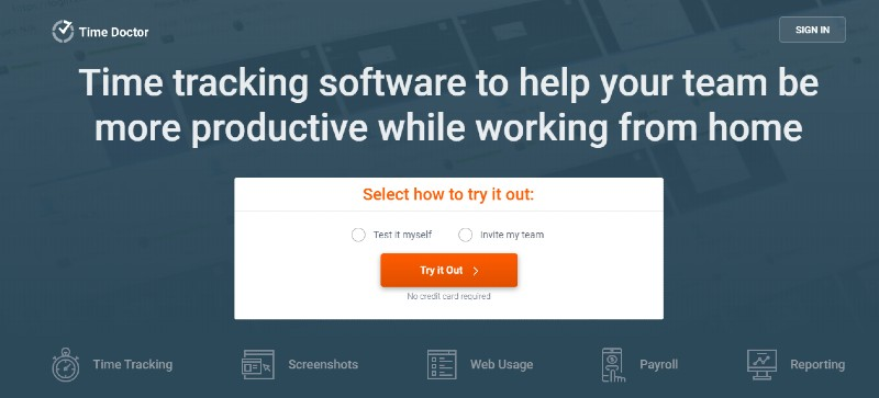Time Doctor - Best Remote Employee Monitoring Software
