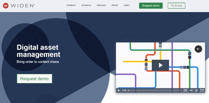 Widen - Best Digital Asset Management Software