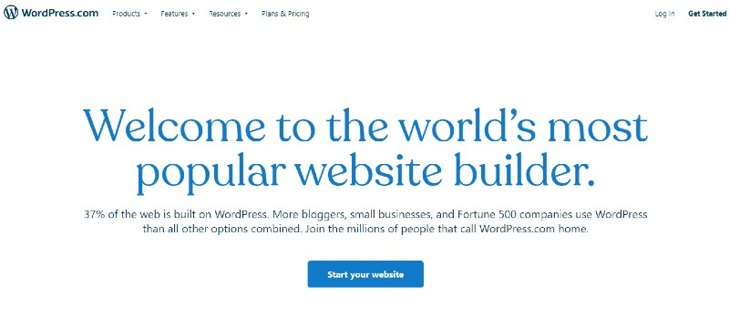 WordPress - Grow Your E-Commerce Business with the Best Website Builder
