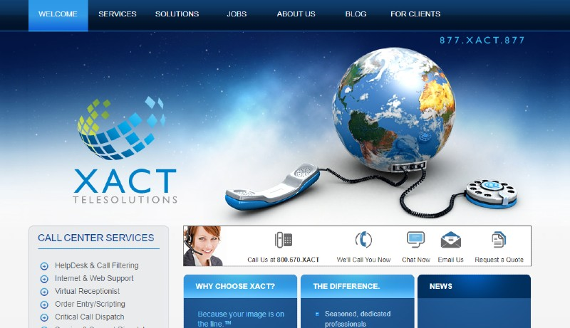 XACT - Best Business Answering Services
