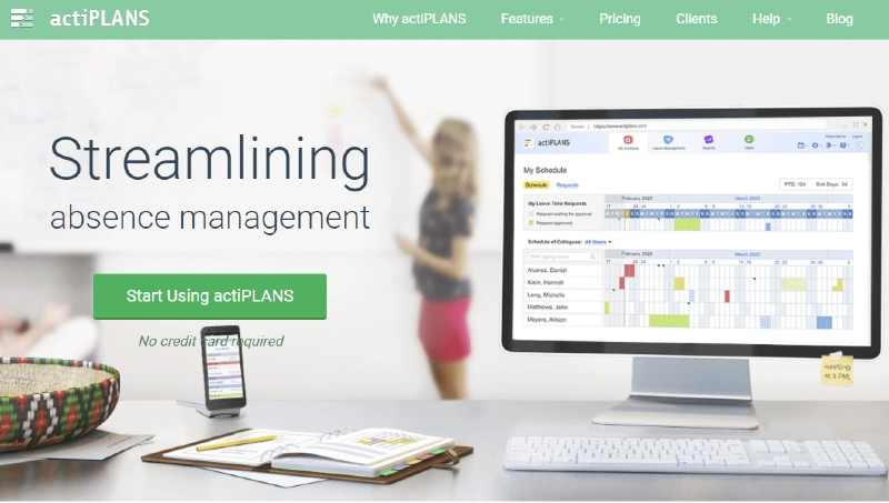ActiPlans - Best Employee Scheduling Software