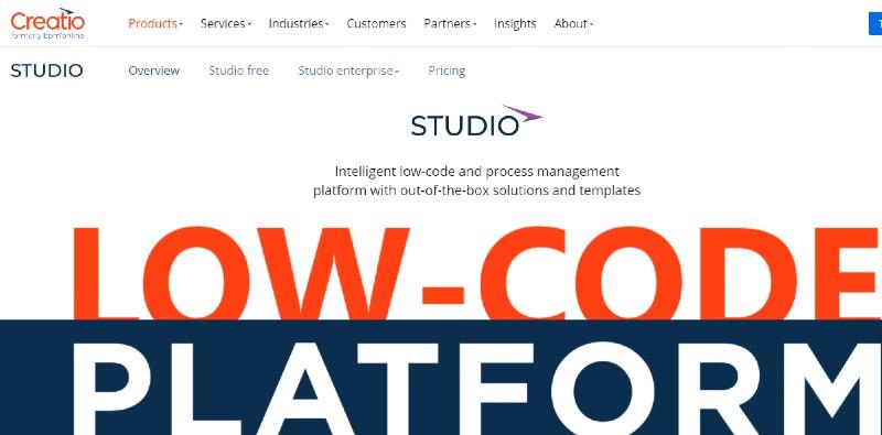 Studio Creatio Enterprise - Best Business Process Management Software