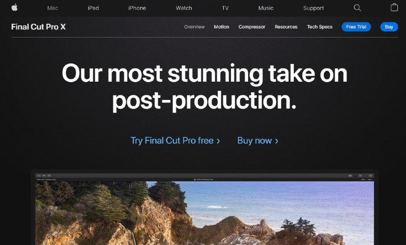 6. Video Editing Tools - Final Cut Pro -  Instagram: Best Video Format for Max Exposure