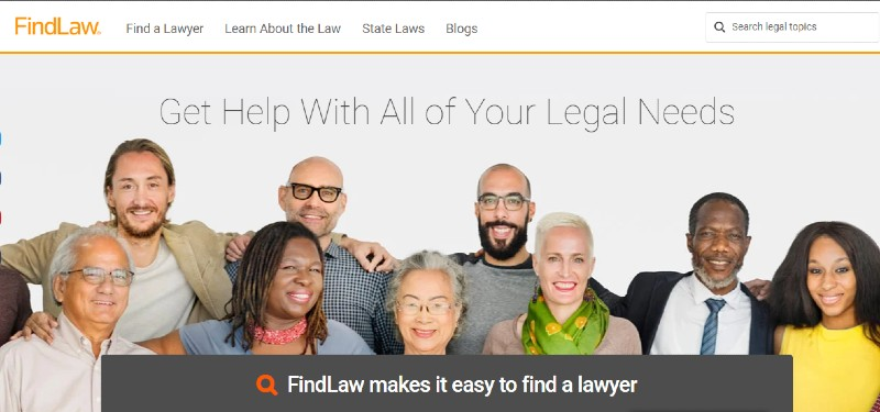FindLaw - Hiring Lawyers for Your Startup App