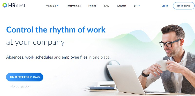 HRnest - Best Employee Scheduling Software