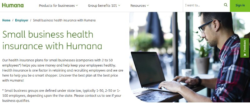 Humana - Best Small Business Health Insurance
