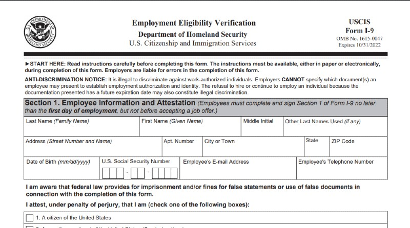 Duuration of keeping I-9 forms - How Long Does a Business Need to Keep Payroll Records