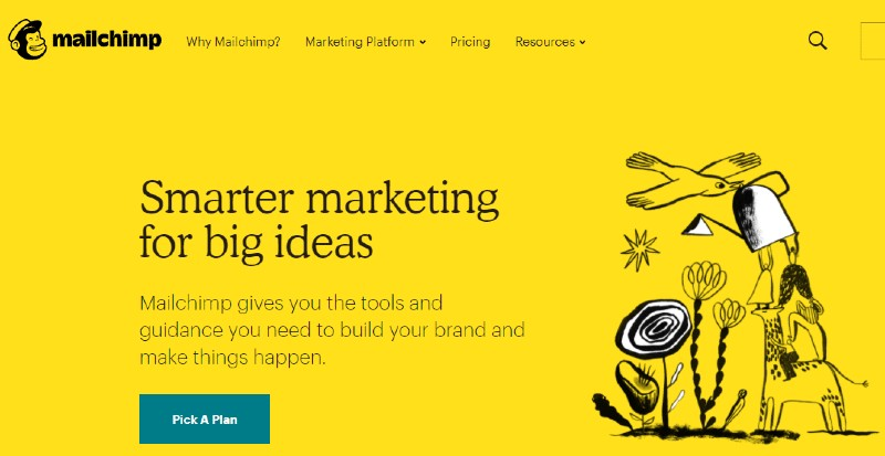 Mailchimp - How Many SaaS Tools You Need to Start Your Business