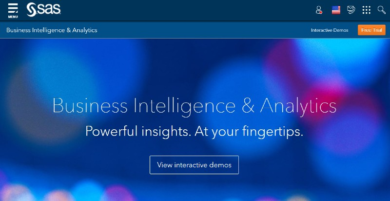 SAS Business Intelligence Software - Best Business Intelligence Software