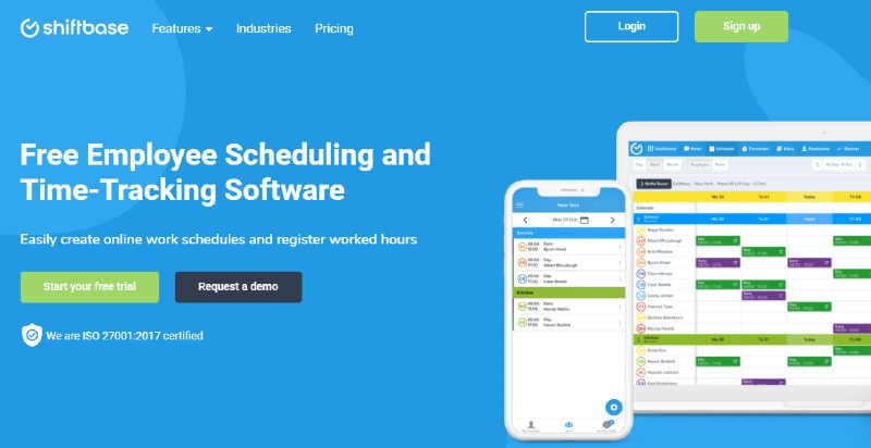 Shiftbase - Best Employee Scheduling Software