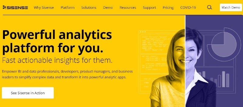 Sisense - Best Business Intelligence Software