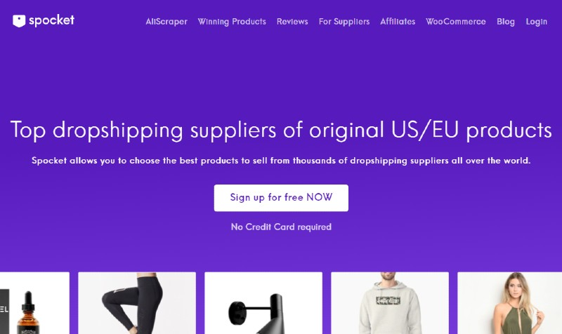 Spocket - Best Dropshipping Companies for your eCommerce Business