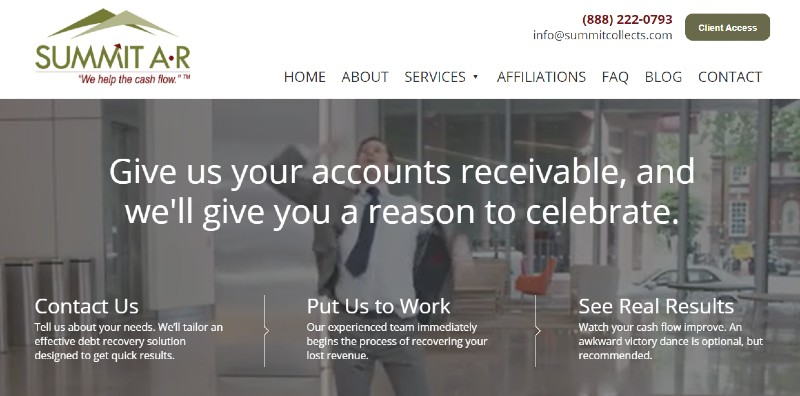 Summit Account Resolution - Best Collection Agency Services