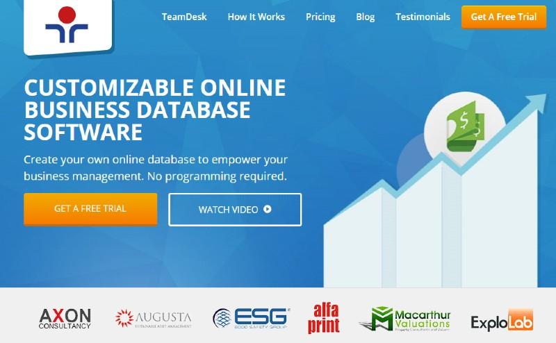 TeamDesk - Best Business Process Management Software