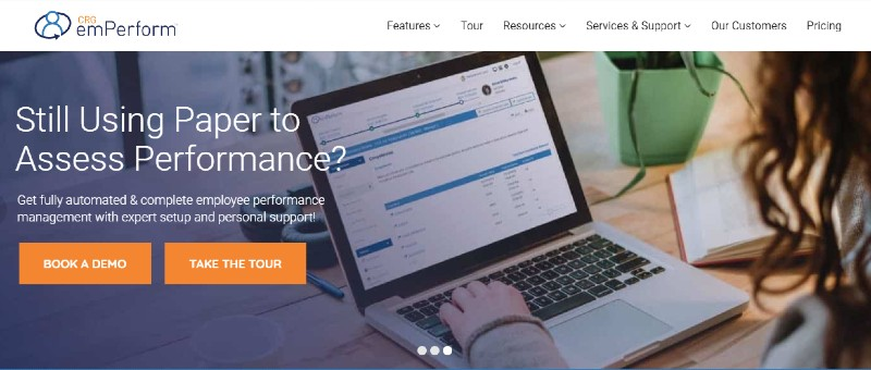 CRG emPerform - Best Performance Management Software