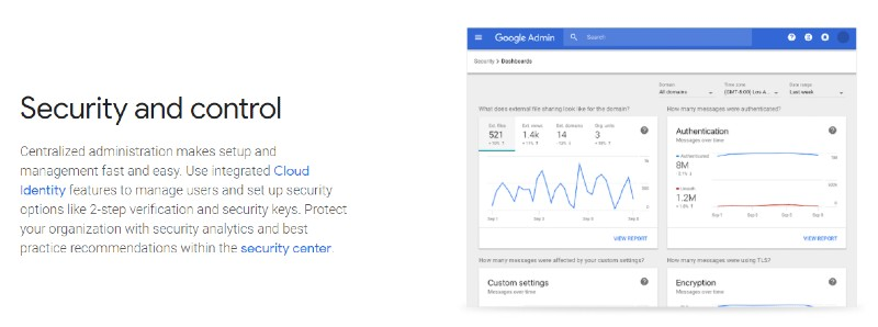 Most secure productivity tool suite - Is GSuite Too Much For A One-Person Business