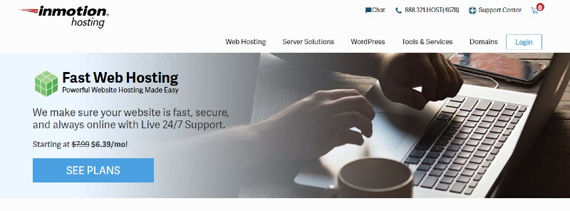 InMotion - Best Web Hosting for Small Businesses