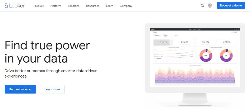 Looker - Best Data Analytics Software
