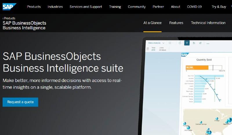 SAP Business Intelligence Platform - Best Data Analytics Software