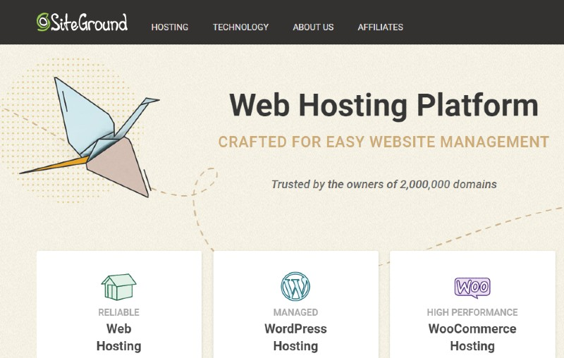 SiteGround - Best Web Hosting for Small Businesses