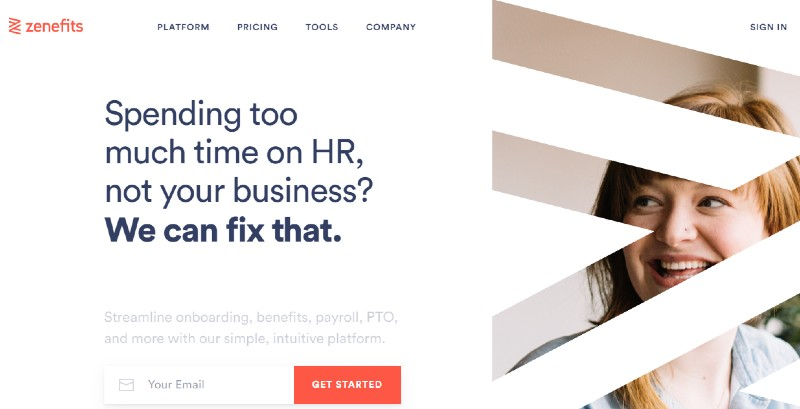 Zenefits - Best Human Resources Software for Startups