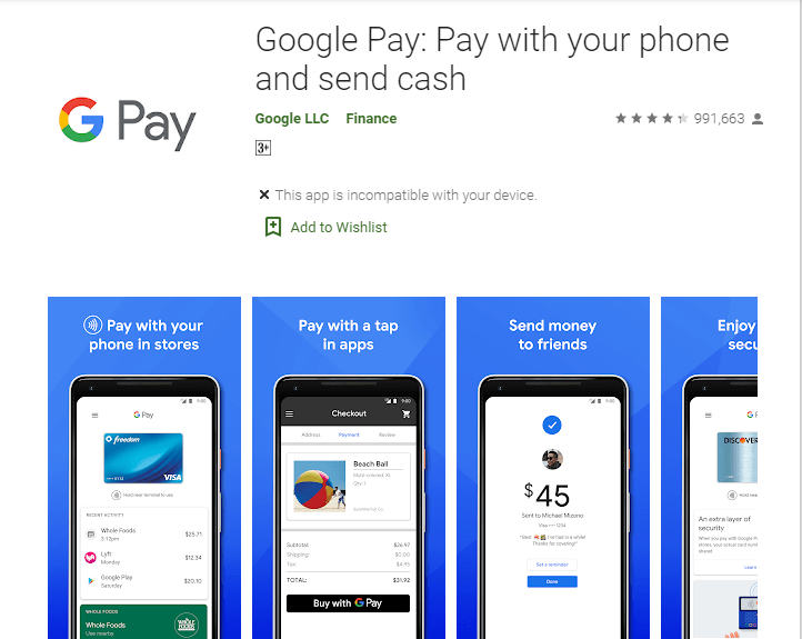 Google Pay - Best PayPal Alternatives