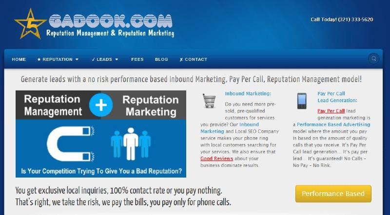 Gadook - Best Online Reputation Management Companies