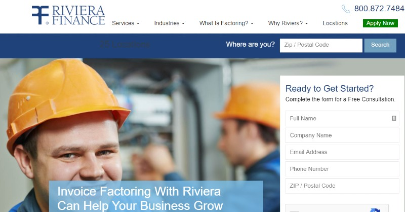Riviera Finance - Best Invoice Factoring Companies