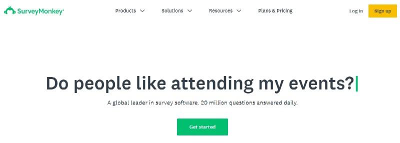 SurveyMonkey - Best 360 Degree Feedback Software