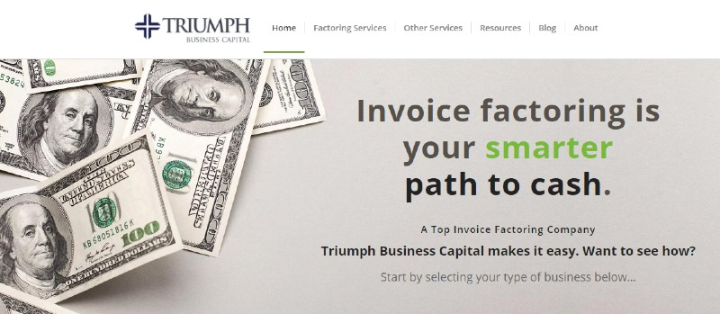 Triumph Business Capital - Best Invoice Factoring Companies