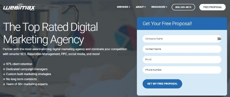 Webimax - Best Online Reputation Management Companies