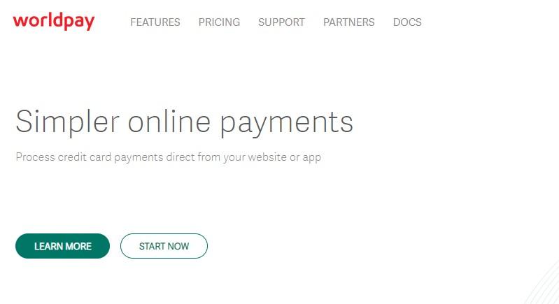 Worldpay - Best PayPal Alternatives