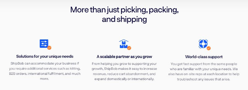 Ideal for small and medium businesses - ShipBob: Reliable Shipping Services