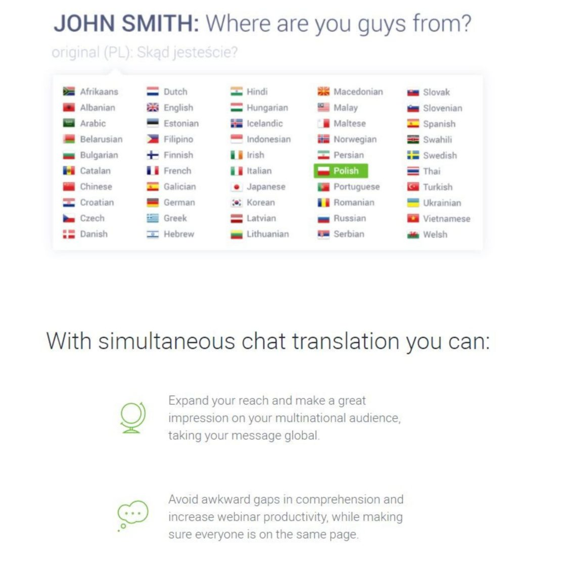 Simultaneous Chat Translation