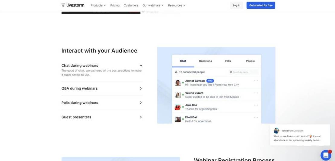 Real-time Interaction with your Audience