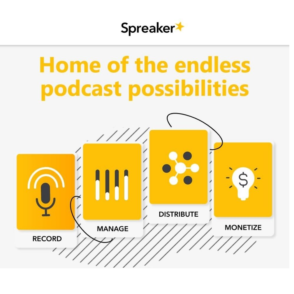 Speaker: Home of the endless podcast possibilities
