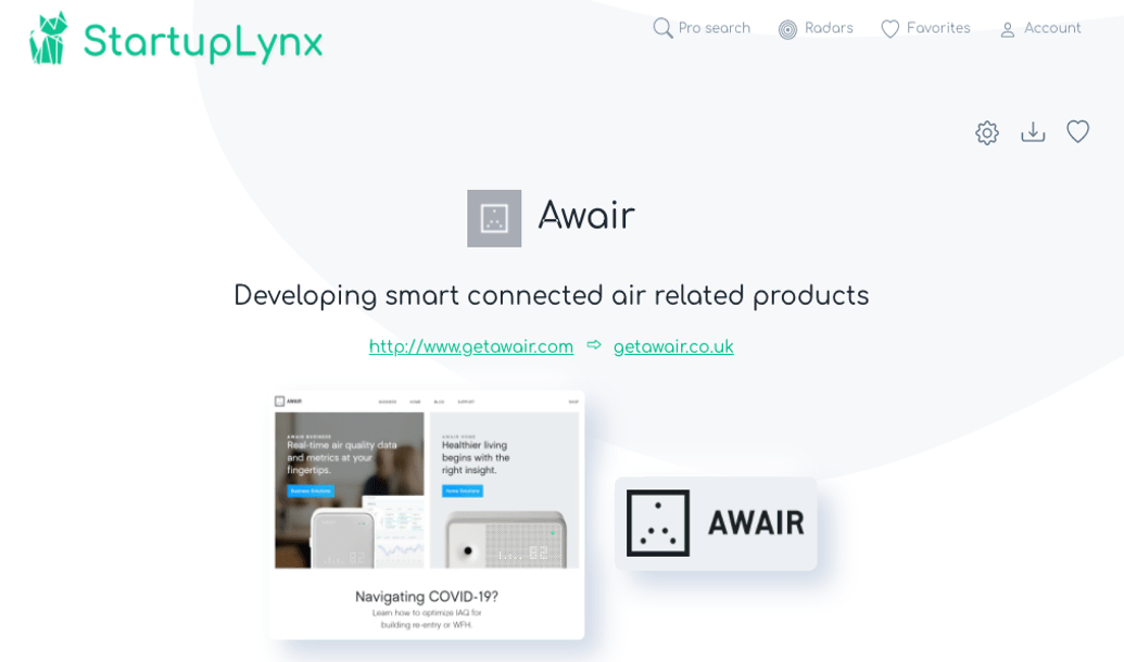 Awair is an indoor air quality monitor that measures toxins and chemicals in the air along with moisture and dust levels and offers advice about how to improve air quality