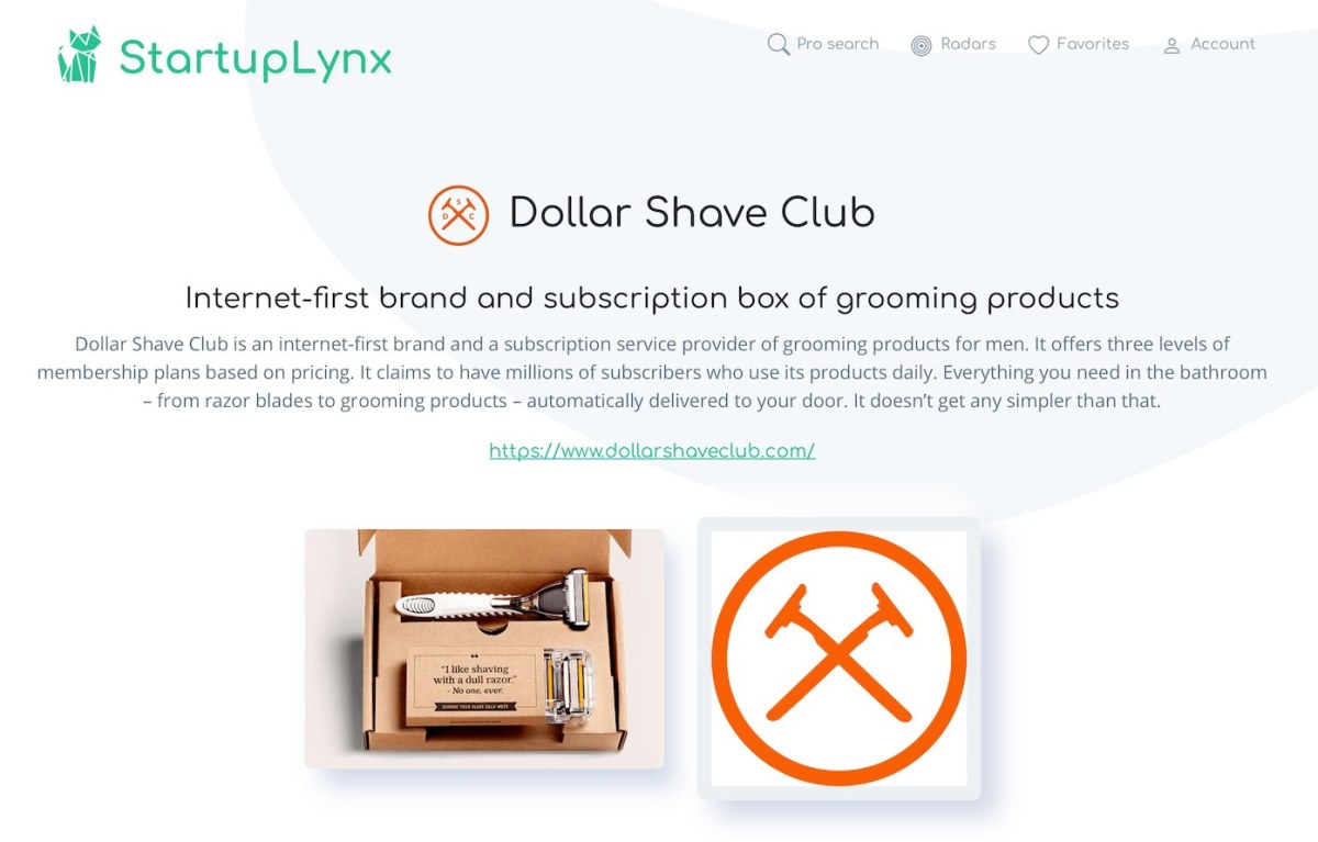 Dollar Shave Club is an internet-first brand and a subscription service provider of grooming products for men.
