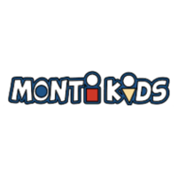 Monti kids logo, online stroe offering products for children
