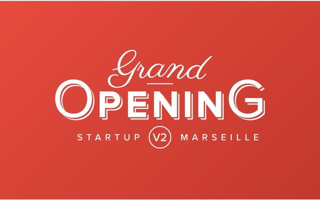 Nous avons inauguré Startup Marseille 2 le 23 janvier