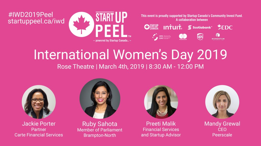 International Women's Day Brampton