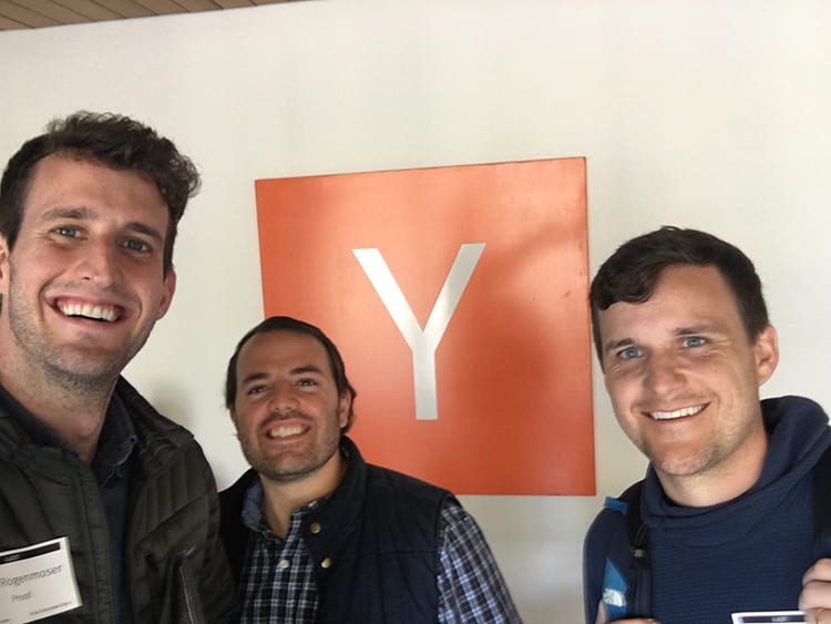 useproof team after graduating from Y combinator